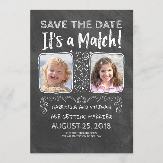 funny photo save the date