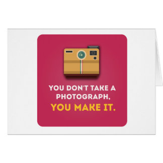 Funny Photograph Quote Card