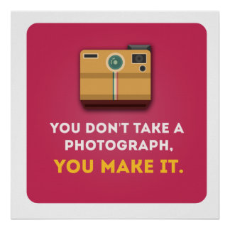 Funny Photograph Quote Poster
