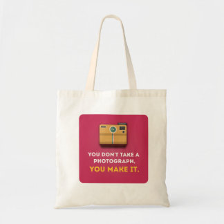 Funny Photograph Quote Tote Bag