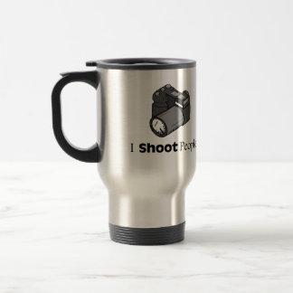Funny Photographer I Shoot People Travel Mug