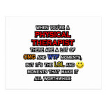 Funny Physical Therapist ... OMG WTF LOL Post Cards