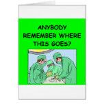 funny physician joke card