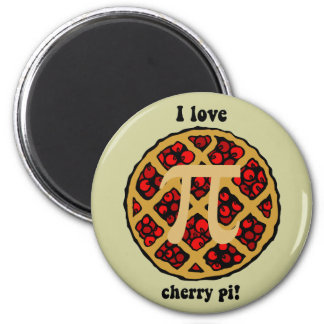 Funny pi 2 inch round magnet