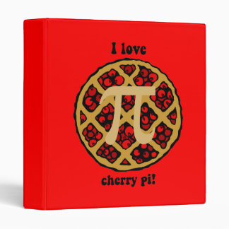 Funny pi 3 ring binder