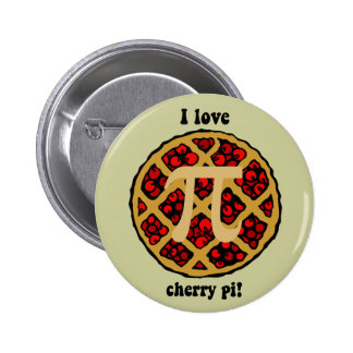 Funny pi pinback buttons