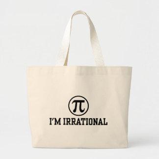 Funny Pi Jumbo Tote Bag