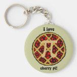 Funny pi key chains