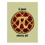 Funny pi postcard