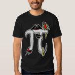 Funny Pi rate Pi Day Humor Tee Shirt