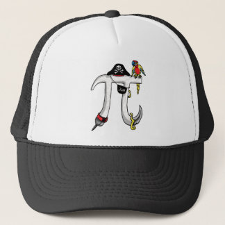 Funny Pi rate Pi Day Humor Trucker Hat
