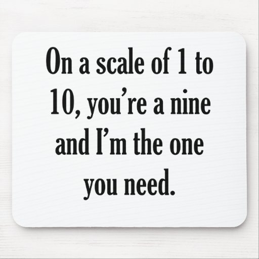 Funny Pick-up Line Mouse Pad