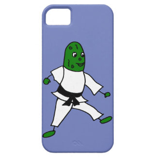 Funny Pickle doing Karate iPhone SE/5/5s Case