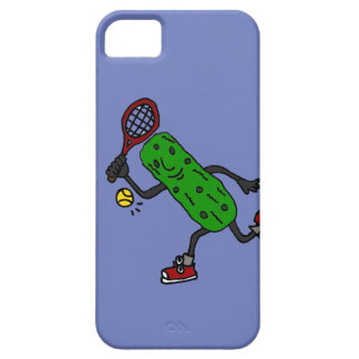 Funny Pickle Playing Tennis Art iPhone SE/5/5s Case
