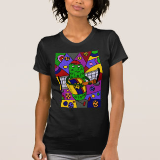 Funny Pickleball Abstract Art Original T-Shirt