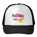 Funny Pickleball Chick Art Trucker Hat