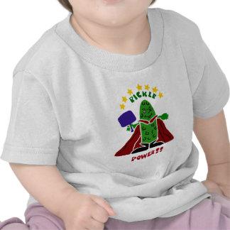 Funny Pickleball Super Hero Pickle T Shirt