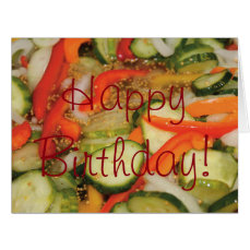 Funny Pickled Birthday Card