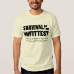 Funny Pie Eating Contest Winner's Survival T Shirts