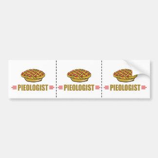 Funny Pie Lover Bumper Sticker