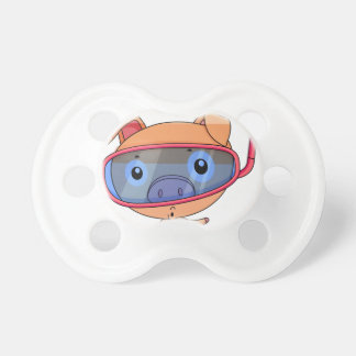 Funny pig BooginHead pacifier