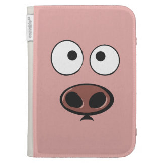 Funny Pig Kindle Cover