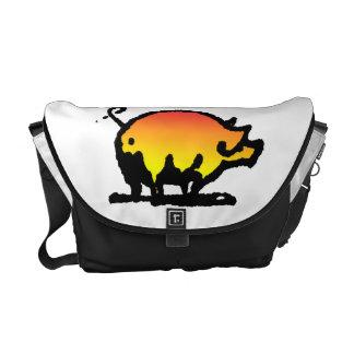 Funny Pig Courier Bag