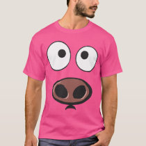 Funny Pig Face T-Shirt