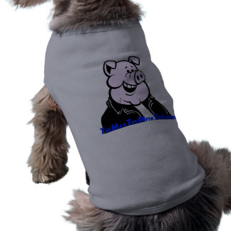 funny pig gift humor joke saying dog clothing