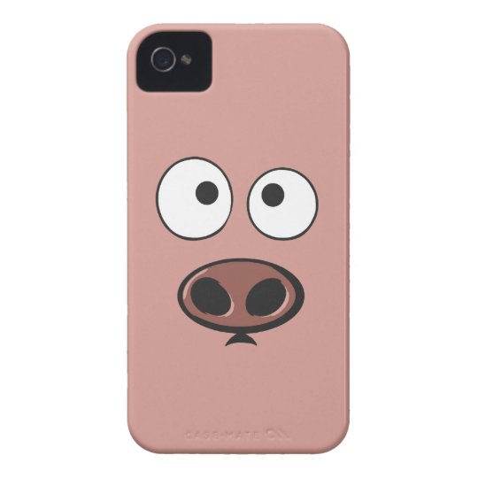 Funny Pig iPhone 4 Case
