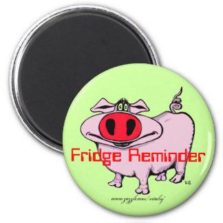 Funny pig marnet magnet
