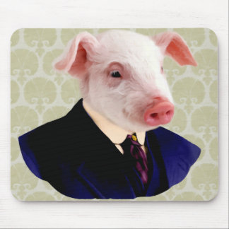 Funny Pig Mouse Pad