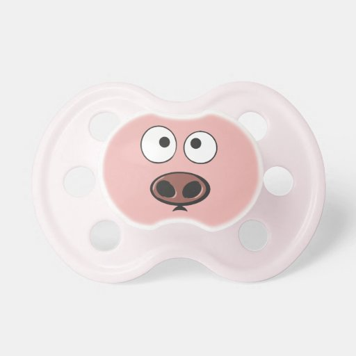 Funny Pig Pacifier