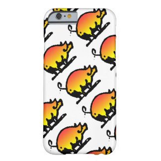 Funny Pig Pattern Barely There iPhone 6 Case