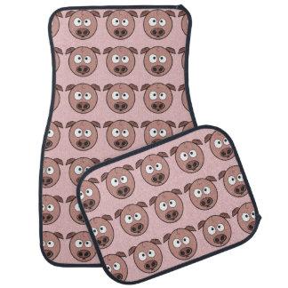 Funny Pig Pattern Car Mat