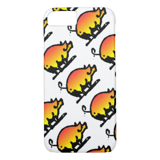 Funny Pig Pattern iPhone 7 Case