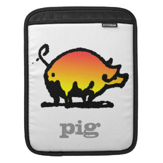 Funny Pig Sleeve For iPads