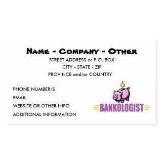 Funny Piggy Bank Business Card