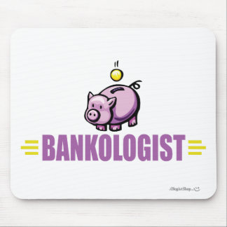 Funny Piggy Bank Mouse Pad