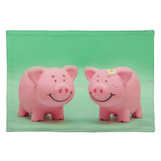 Funny Pigs Toys Placemat
