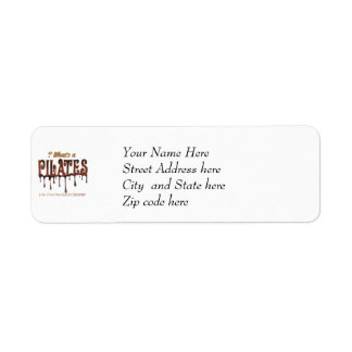 Funny Pilates Dipped in Chocolate Label
