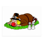 Funny Pilgrim Picture Post Card