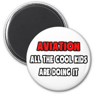 Funny Pilot Shirts and Gifts 2 Inch Round Magnet