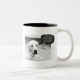 Funny Pina Colada Labrador Mug