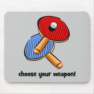 funny ping pong mouse pad