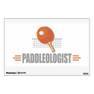 Funny Ping Pong Wall Decal