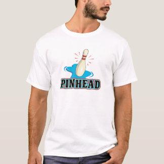 funny pinhead bowling design T-Shirt