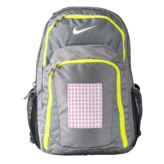 Funny Pink Easter Bunnies Backpack