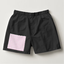 Funny Pink Easter Bunnies Boxers