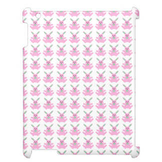 Funny Pink Easter Bunnies Cover For The iPad 2 3 4